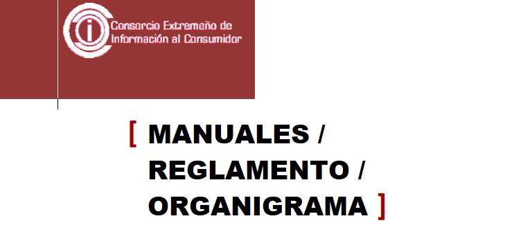 MANUALES / REGLAMENTO / ORGANIGRAMA