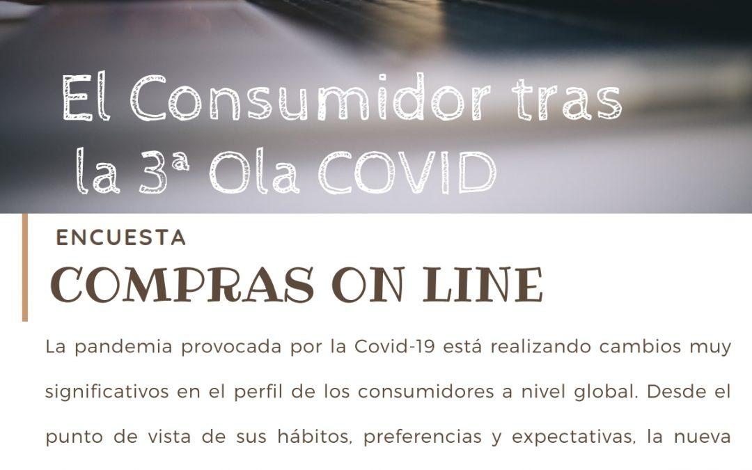 El Consumidor tras la tercera ola COVID-19. Compras Online.