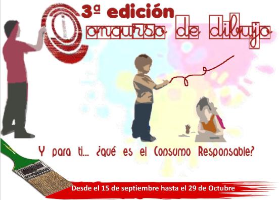 """3ª edición del concurso de dibujo infantil y juvenil """"Y para tí… ¿qué es el Consumo Responsable?"""""""